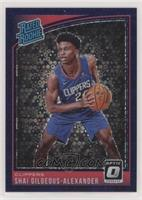 Rated Rookies - Shai Gilgeous-Alexander #/95
