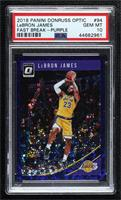 LeBron James [PSA 10 GEM MT] #/95