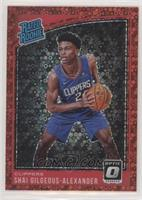 Rated Rookies - Shai Gilgeous-Alexander #/85