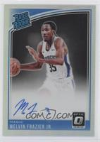Rated Rookies Signatures - Melvin Frazier Jr.