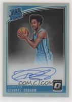 Rated Rookies Signatures - Devonte' Graham [EX to NM]