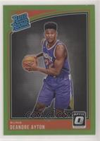 Rated Rookies - Deandre Ayton #/149