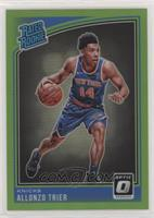 Rated Rookies - Allonzo Trier [NoneEXtoNM] #/149