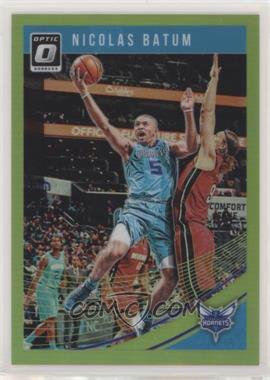 2018-19 Panini Donruss Optic - [Base] - Lime Green Prizm #18 - Nicolas Batum /149