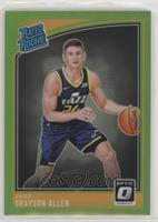 Rated Rookies - Grayson Allen [EX to NM] #/149