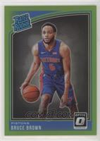 Rated Rookies - Bruce Brown [EX to NM] #/149