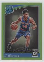 Rated Rookies - Allonzo Trier /149