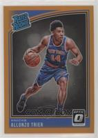 Rated Rookies - Allonzo Trier /199