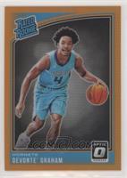 Rated Rookies - Devonte' Graham /199