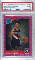 Rated Rookies - Anfernee Simons [PSA9MINT] #/79