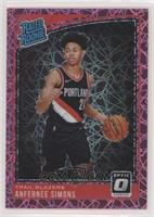 Rated Rookies - Anfernee Simons #/79
