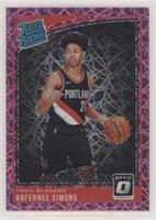 Rated Rookies - Anfernee Simons /79