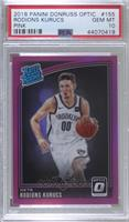 Rated Rookies - Rodions Kurucs [PSA 10 GEM MT] #/25