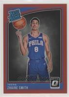 Rated Rookies - Zhaire Smith #/99