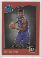 Rated Rookies - Deandre Ayton #/99