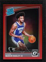 Rated Rookies - Marvin Bagley III [NoneNoted] #/99