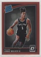 Rated Rookies - Lonnie Walker IV /99