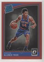 Rated Rookies - Allonzo Trier /99