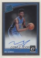 Rated Rookies Signatures - Mo Bamba