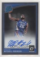 Rated Rookies Signatures - Mitchell Robinson