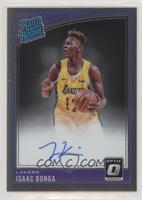 Rated Rookies Signatures - Isaac Bonga