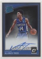Rated Rookies Signatures - Allonzo Trier