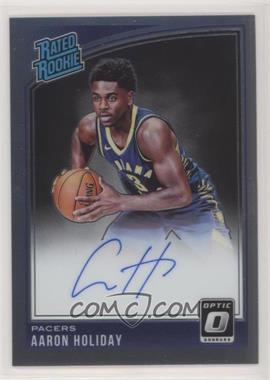 2018-19 Panini Donruss Optic - [Base] - Signatures [Autographed] #176 - Rated Rookies Signatures - Aaron Holiday