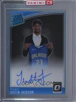 Rated Rookies Signatures - Justin Jackson