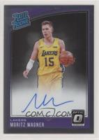 Rated Rookies Signatures - Moritz Wagner