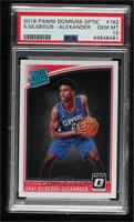 Rated Rookies - Shai Gilgeous-Alexander [PSA 10 GEM MT]