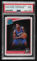 Rated Rookies - Shai Gilgeous-Alexander [PSA 9 MINT]