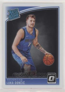 2018-19 Panini Donruss Optic - [Base] #177 - Rated Rookies - Luka Doncic