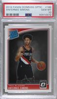 Rated Rookies - Anfernee Simons [PSA10GEMMT]