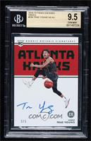 Rookie Notable Signatures - Trae Young [BGS9.5GEMMINT] #/5