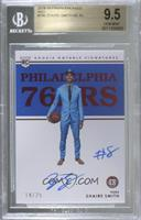 Rookie Notable Signatures - Zhaire Smith [BGS9.5GEMMINT] #/25
