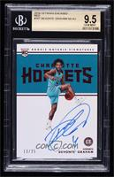 Rookie Notable Signatures - Devonte' Graham [BGS 9.5 GEM MINT] #…