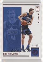 Dirk Nowitzki #/35