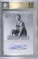 Rookie Endorsements - Grayson Allen [BGS9.5GEMMINT] #/75