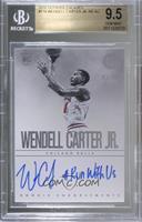 Rookie Endorsements - Wendell Carter Jr. [BGS9.5GEMMINT] #/75