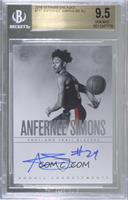 Rookie Endorsements - Anfernee Simons [BGS 9.5 GEM MINT] #/75