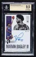 Rookie Scripted Signatures - Marvin Bagley III [BGS 9.5 GEM MINT…