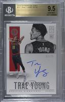 Rookie Scripted Signatures - Trae Young [BGS9.5GEMMINT] #/75