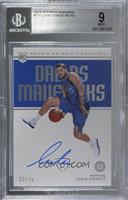 Rookie Notable Signatures - Luka Doncic /75 [BGS 9 MINT]