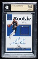 Rookie Jersey Autographs - Luka Doncic [BGS9.5GEMMINT] #/99