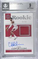 Rookie Jersey Autographs - Chandler Hutchison [BGS9MINT] #/99