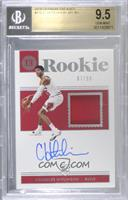Rookie Jersey Autographs - Chandler Hutchison [BGS 9.5 GEM MINT]…