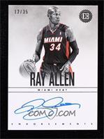 Ray Allen #/35