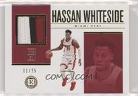 Hassan Whiteside #/25