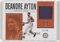 Deandre Ayton #/99