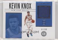 Kevin Knox II #/99
